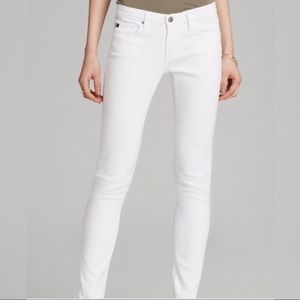 Ag Adriano Goldschmied | White The Stilt Jean